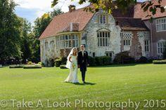 Bride & Groom Bisham Abbey