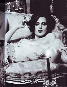 Vogue Italia January 2011 Keira Knightley by Ellen Von Unwerth Cigars And Women, Women Smoking Cigars, Cigar Smoking, Girl Smoking, Smoking Ladies, Keira Knightley, Keira Christina Knightley, Ellen Von Unwerth, Cigar Girl