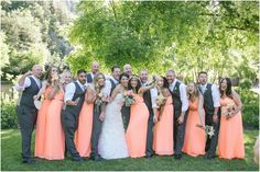 Log Haven, wedding cerimony, peach, coral, Millcreek Canyon, Cactus and Tropicals, wedding photographer, Beka Price Photography