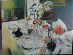 Interpretacja -  Matisse , olej,płótno, 90 x 76