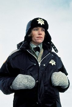 Marge Gunderson - Fargo - Frances McDormand - Coen Brothers - One of my favorite heroines of all time.