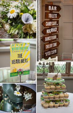 festival wedding decoration details http://www.wedfest.co/better-together-festival-wedding/
