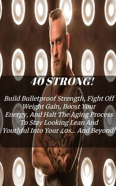 """Learn How To Make Your Your Best Decade Ever, """"otherwise you'll fall into trap so many guys fall into. Chest Workout For Men, Chest Workouts, Body Weight, Weight Gain, Weight Loss, Hiit, Cardio, Aging Process, Interval Training"""