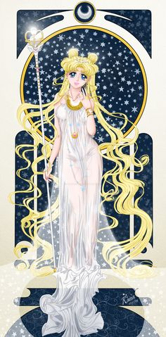 Sailor Moon. New Queen Serenity by Kanochka