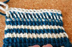 Crochet  PESCNO: Tunesisk hækling/hakning - GUIDE