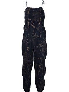 ULLA JOHNSON 'Printed Patchwork' Jumpsuit. #ullajohnson #cloth #jumpsuit