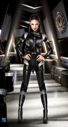 Wing Commander (BSG): Olivia Wilde by SilentArmageddon