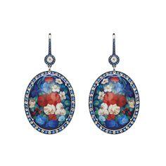 Axenoff Jewellery » Earrings Solovushka