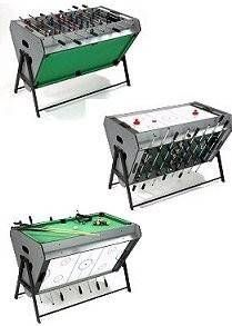 Tri Sports Table ... Air Hockey, Pool U0026 Table Football In 1