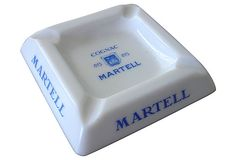 French Martell Cognac Ashtray on OneKingsLane.com