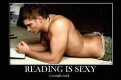 reading is sexy.