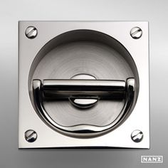 Want to dress up existing furniture or cabinets? Love this hardware by Nanz