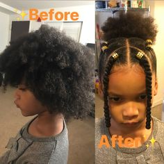 All Natural Black Hair Care Products Lil Girl Hairstyles, Black Kids Hairstyles, Natural Hairstyles For Kids, Kids Braided Hairstyles, My Hairstyle, Pretty Hairstyles, Quick Hairstyles, Vintage Hairstyles, Hairstyle Ideas