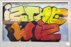 "Graffiti in the beginning"" @Spacejunk, Lyon   iz the wiz"