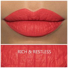 MAC Retro Matte Liquid Lipcolour in Rich & Restless - Review and Swatches