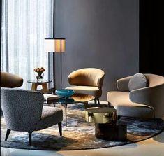 Home Decor Accessories 45 Awesome Modern Sofa Design Ideas Lounge Design, Luxury Home Decor, Luxury Homes, Living Room Interior, Living Room Decor, Home Furniture, Furniture Design, Modern Sofa Designs, Hotel Lounge