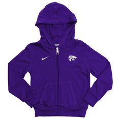 Kansas State Wildcats Nike Purple Hoodie Baby Infant Size 3-6 Months Unisex NWT #Nike #KansasStateWildcats