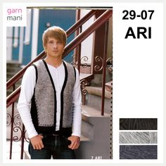 no - Spesialist på islandsk garn Ravelry, Vest, Jackets, Black, Dresses, Fashion, Threading, Scale Model, Down Jackets