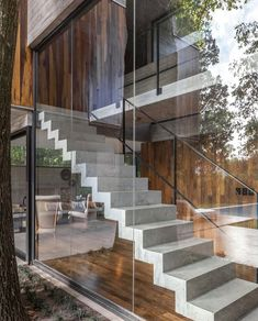 Staircase Outdoor, Marble Staircase, Staircase Railings, Modern Staircase, Staircases, Atelier Architecture, Staircase Architecture, Concrete Architecture, Modern Architecture
