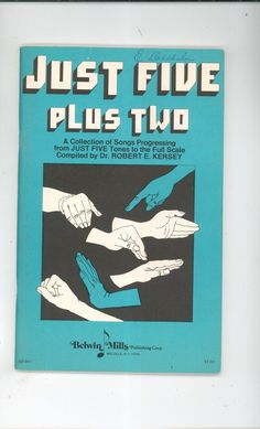 Just Five Plus Two by Dr. Robert Kersey Belwin Mills SB 941 Over 22,000 Items In Store @