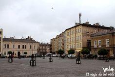 Plaza Heroes Ghetto Cracovia Polonia