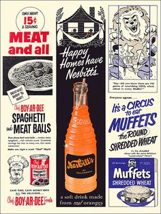 Old Ads from Vintage Ephemera, Vintage Ads, Vintage Images, Vintage Posters, Vintage Food, Vintage Stuff, Retro Advertising, Retro Ads, Vintage Advertisements