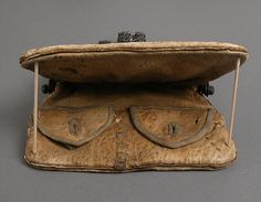 Purse (image 4) | European | 15th-16th century | iron, leather | Metropolitan Museum of Art | Accession #:  52.121.2