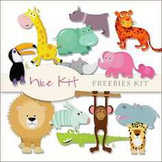 Scrap. DOT: Freebies Kit of Nice Animals