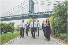 Brooklyn Bridge Park and reBar Same Sex Wedding www.HeatherPrescottPhotography.com
