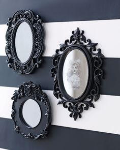 Spooky halloween mirror spooky stripes mirror craft halloween crafts craft ideas crafty halloween pictures happy halloween halloween images halloween crafts halloween craft ideas best halloween crafts trick mirror