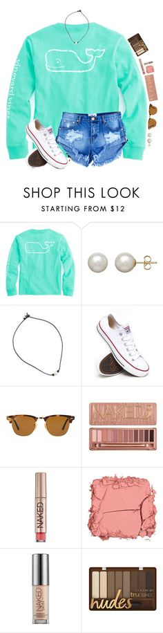 """Camp was lit"" by evedriggers ❤ liked on Polyvore featuring Honora, Converse, Ray-Ban, Urban Decay and Illamasqua"