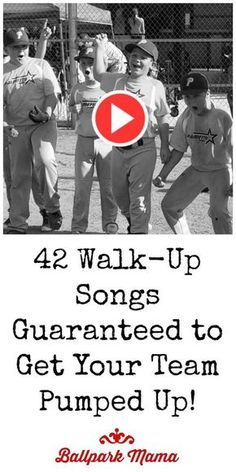 An easy to use list (with links) of Rock, Country, Rap, Top 40 and Christian warm-up music and walk-up songs for baseball and softball. #funbaseball
