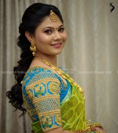 Reception look for my pretty bride Bharathi :) For bridal bookings contact 9840312031