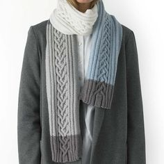 Ravelry: Heart Warming Scarf pattern by MillaMia Sweden Knitted Shawls, Knit Scarves, Knitted Gifts, Crochet Needles, Crochet Yarn, Knitting Patterns, Crochet Patterns, Scarf Patterns, Crochet Ideas
