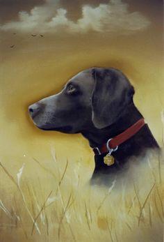 A commissioned portrait oil painting of a beloved pet which passed away. Oil Paint Medium, Mans Best Friend, Best Friends, Pet Dogs, Pets, Oil Paintings, Landscape, Portrait, Canvas