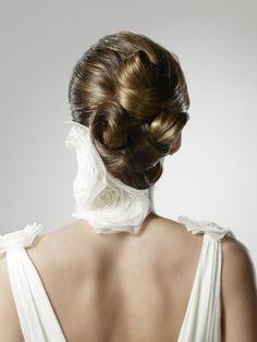 Peinado para novia: recogidos clásicos {Propuesta de LLongueras} #bodas #peinado #hairstyle #wedding #bride #spain