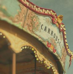 Carnival photography merry go round photo kids room by bomobob, $30.00
