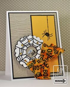The Spider and the Web by atsamom - Cards and Paper Crafts at Splitcoaststampers