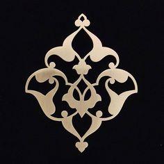 No photo description available. Stencil Patterns, Stencil Designs, Pattern Art, Jewelry Design Drawing, Design Art, Motifs Islamiques, Motif Arabesque, Motif Oriental, Islamic Art Pattern