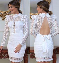 Couture Dresses, Women's Fashion Dresses, Casual Dresses, Dress Outfits, Formal Dresses, Fall Dresses, Long Dresses, Mode Baroque, Crochet Short Dresses