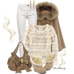 """""""Winter Caramel"""" by fiona-stanley on Polyvore"""