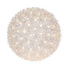"6"" Twinkle Starlight Sphere, 50 Warm White LED Lights Win..."