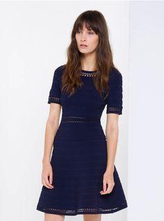 781d892929b vestido azul con borcegos - Buscar con Google Flare Skirt