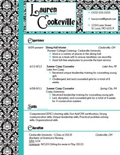 Resume design, My resume and Damasks on Pinterest