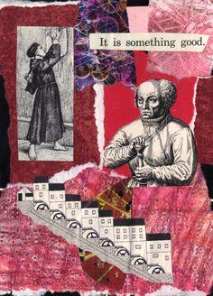 Postcard for iHanna Fall Postcard Swap made by Claudia #mailart #happymail #diypostcardswap @ihanna