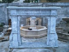 BEAUTIFUL EUROPEAN DESIGN HAND CARVED MARBLE  ESTATE FIREPLACE MANTEL - CCM10 #Unbranded Marble Fireplace Mantel, Marble Fireplaces, Fireplace Mantels, Hand Carved, Carving, Beautiful, Ebay, Design, Home Decor