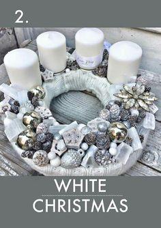 Christmas Advent Wreath, Merry Christmas, Christmas Program, Christmas Wedding, Winter Christmas, Christmas Crafts, Advent Wreaths, Coron, The Night Before Christmas