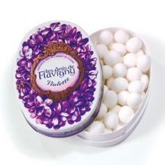 Boîte ovale - Violette 50g