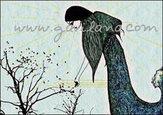 Lápiz, carbón, sepia, pastel, creta y tinta china en un derramado de trazos que combaten la ignorancia, la superstición y la tiranía con la esperanza de construir un mundo mejor.  http://www.gavilana.com/?gallery=ilustracion www.gavilana.com