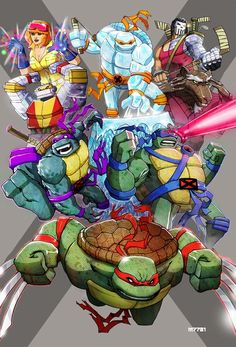 The latest grouping of comic-related mashups is here. The TMNT/X-Men mashup is by far my favorite. The Community/Street Fighter mashup definitely takes the cake for the most original, I would say the Avengers/Adventure Time image takes home the award for most random mashup as well.
